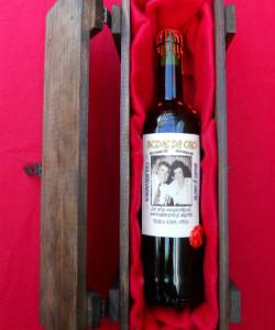 estuche de vino personalizado