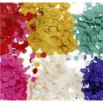 confeti multicolor