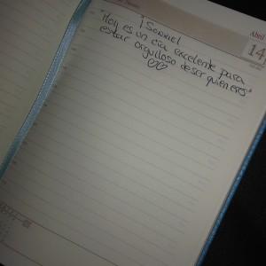 agenda personalizada hecha por ti