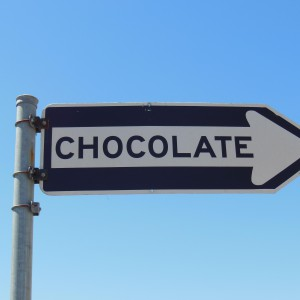 Díselo con chocolate