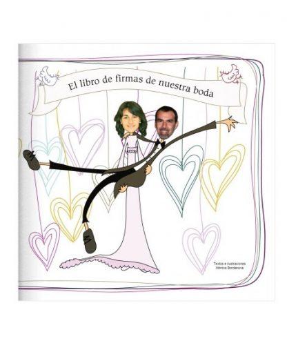 Libro de firma para la boda