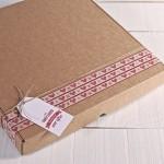 Caja Cartón Corazones