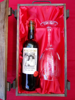 Estuche doble de vino personalizado